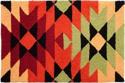Aztec Blanket Doormat-JellyBean Rug