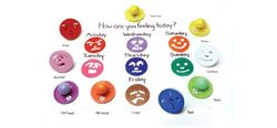 Center Enterprise Ready2learn Giant Feelings Stamps - Pack of 10 (CE6753)