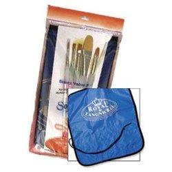 Royal Soft Grip Combo Artist Brush Set (BYSG405)