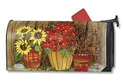 Magnet Works, Ltd. Fall Flowers Mailwrap