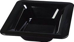 """Carlisle 44422 Black 2 1/2"""" Deep Palette Designer Displayware 1/2 Size Food Pan - / Case 6"""