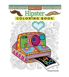 Thaneeya McArdle Hipster Coloring Book - Paperback