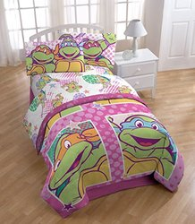 3 Pc Teenage Mutant Ninja Turtles Sheet Set: Nickelodeon Shell Tastic/Full
