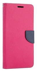 Samsung Galaxy Note 7 Diary Wallet Hot Pink Navy Blue