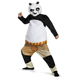 Kid's Kung-Fu Panda-Po Deluxe Muscle Costume - Large