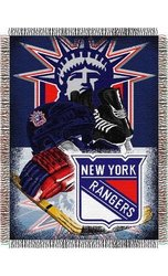 NHL Acrylic Tapestry Throw