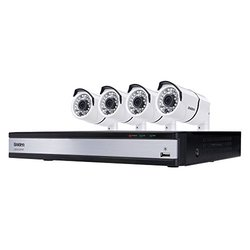 Uniden 720p 8-Channel DVR with 1TB HDD & 4 Outdoor HD Cameras (UDVR85x4)
