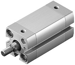 Festo 536255 Aluminum/Steel ADN-25-25-A-P-A Compact Double Acting Cylinder