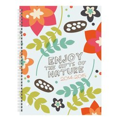 Brownline July 2014 - July 2015 Weekly Academic Planner