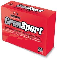 Satisfied Brakes  GranSport Carbon Ceramic Disc Brake Pads (GS6-D460)