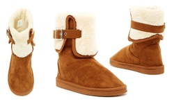 Serene Women's Comfort Creisee Boot - Chestnut - Size: 7.5