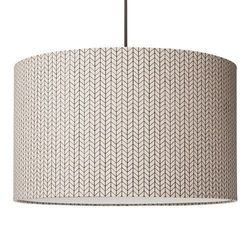 Crosby Threshold Pendant Ceiling Light - Ivory- Size: Small