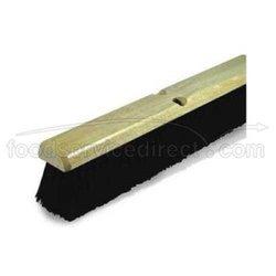 Disco Black Tampico Floor Sweep - Push Broom, 24 inch Fine -- 1 each.