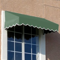 "Awntech EF1030-7S, Window/Entry Awning 7' 4-1/2""W x 2' 6""D x 1' 4""H Sage"