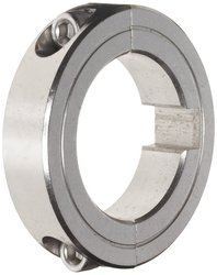Climax Metal 2 Piece Stainless Steel Clamping Collar with Keyway