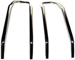 Warn 72469 Trans4mer Brush Guard - Stainless Steel