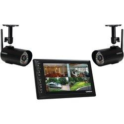 "Uniden 7"" Video Surveillance Monitor w/ 2 Outdoor Cameras (UDS655)"