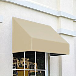 "Awntech CN43-4L, Window/Entry Awning 4' 4-1/2""W x 3'D x 4' 8""H Linen"