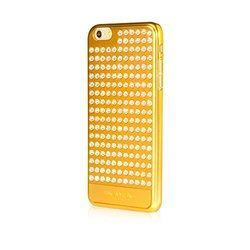 Bling My Thing Extravaganza Design Case for iPhone 6 Plus - Metallic Gold