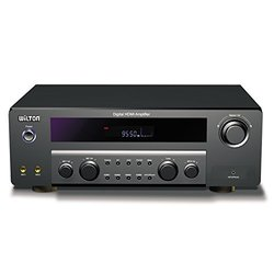 Wilton HDR510 5.1 Channel 250 Watts Bluetooth Home Theater Built-in AM/FM Radio HDMI 4K Amplifier Receiver