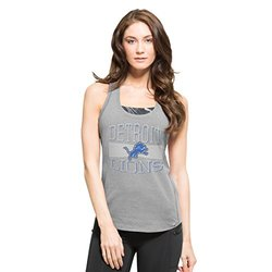 47 Women's NFL Detroit Lions High Point Tank Top - Shift Grey - Size: L