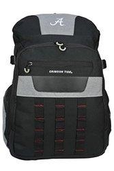 "NCAA Alabama Crimson Tide Franchise 18.5"" Backpack - Black"