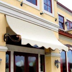 "Awntech 5 Ft Charleston Window/Entry Awning - Off White - Size: 24"" x 36"""