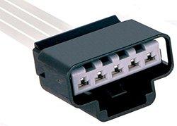 ACDelco PT1693 GM Original Equipment 5-Way Female Black Multi-Purpose Pigtail
