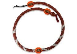 Gamewear NCAA Oklahoma State Cowboys Classic Spiral Football Necklace
