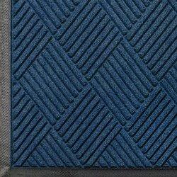 Andersen 208 WaterHog Entrance Indoor/Outdoor Floor Mat 8.4' x 6' - Navy