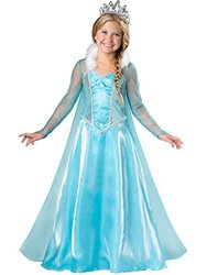 InCharacter Costumes Snow Princess Costume, One Color, 10