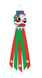 "Two Group Santa Christmas Windsock Wind Sock 12"" X 60"""