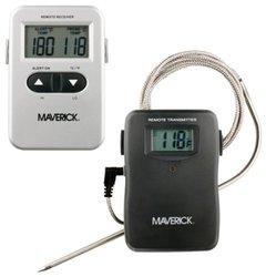 Maverick RediChek Remote Wireless Cooking Thermometer W/ LCD Transmitter