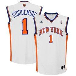 NBA Adidas Amare Stoudemire New York Knicks  Jersey - White - Size: Large