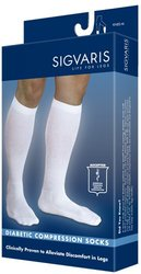 Sigvaris Diabetic Compression Socks For Men & Women, 18-25mmhg (xs (x-large Short))