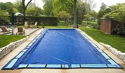 Arctic Armor Rectangular Inground Swimming Pool Cover - 25' x 50'