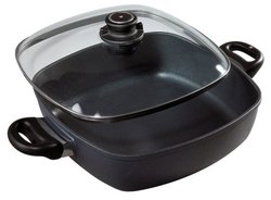 Swiss Diamond 5 Qt. Induction Square Casserole with Lid