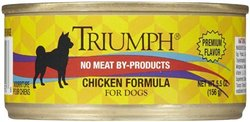 Triumph Chicken Dog Food - 24x5.5oz