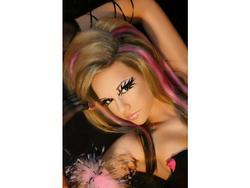 Xotic Eyes Costume Glitter Electric Eye Kit with Rhinestone Lashes
