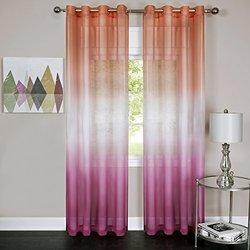 Rainbow - Single Grommet Panel - 52 x 84 Pink