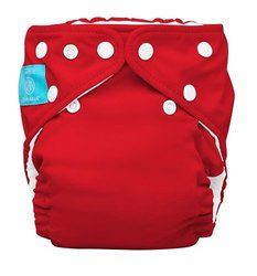 Charlie Banana Unisex 2 in 1 Cloth Diaper - Red - Size: One