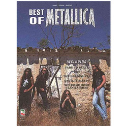 Cherry Lane Best of Metallica Personality Paperback - Piano Vocal
