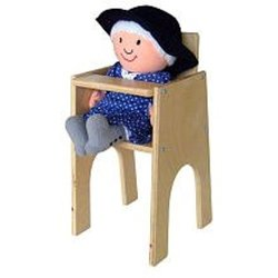 A+ Childsupply Deluxe Doll High Chair