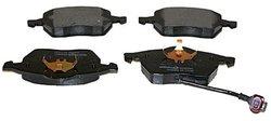 Beck Arnley  087-1662  Semi-Metallic Brake Pads