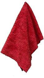 """Janey Lynn's Designs 28""""x19"""" Cha Cha Shaggies Towel - Chili Red"""