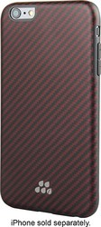 Evutec - Karbon Si Kozane Case for Apple iPhone 6 - Red/Black
