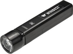 Winbest Portable USB Charger with Flashlight by BARSKA