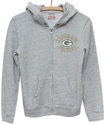 NFL Green Bay Packers Zip Fleece Jacket, Medium