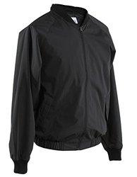 Smitty Men's Full Front Zipper Jacket - Black - Size: 3X-Large