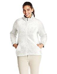 White Sierra Women's Cozy Fleece Jacket - Cloud - Size: XL